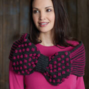 Patons Ribbon and Bow Cowl