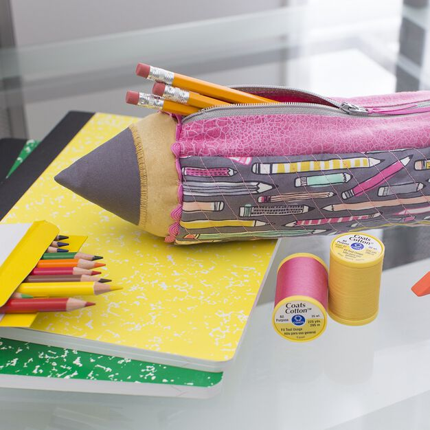 Dual Duty To the Point Pencil Case in color