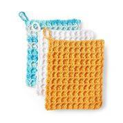 Go to Product: Peaches & Crème Crochet Waffle Stitch Dishcloth, Version 2 in color