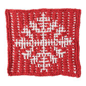 Bernat Mosaic Snowflake Dishcloth