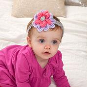 Red Heart Bloomin' Baby Headband, Preemie