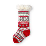 Go to Product: Red Heart Festive Fair Isle Stocking in color