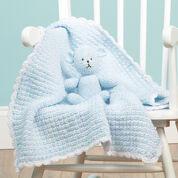 Red Heart Crochet Teddy Lovey