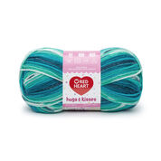 Go to Product: Red Heart Hugs & Kisses Yarn, Mixed Mints in color Mixed Mints