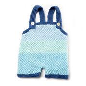 Bernat Knit Baby Romper, 6 mos
