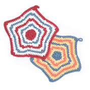 Go to Product: Lily Sugar'n Cream Stripey Star Dishcloth in color