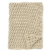 Bernat Easy Going Crochet Blanket
