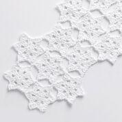 Bernat Starflake Crochet Table Runner