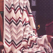 Patons Woven Look Afghan