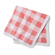 Go to Product: Caron Gingham Baby Blanket in color