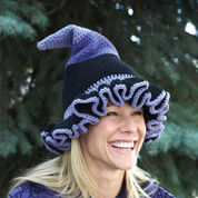 Lily Sugar'n Cream Witch or Wizard Hats, Witch