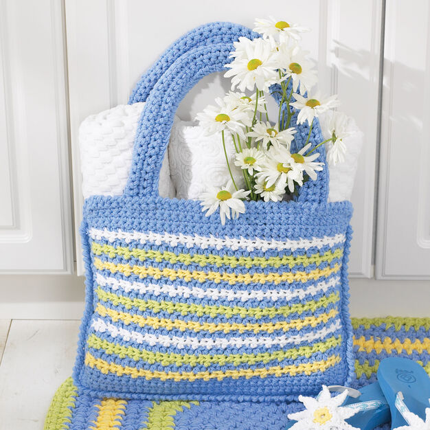 Lily Sugar'n Cream Shopping Tote Bag