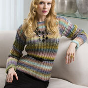 Go to Product: Red Heart Monet's Garden Sweater, S in color