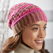 Red Heart Textured Reversible Beanie, Child