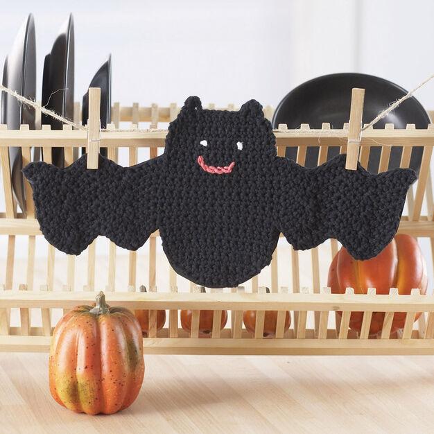 Lily Sugar 'n Cream Bat Dishcloth