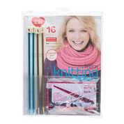 Red Heart Learn Knitting Kit