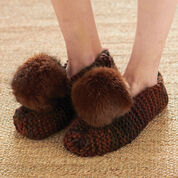 Patons Basic Chunky Slippers, S