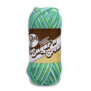 Lily Sugar'n Cream Big Ball Ombres Yarn, Emerald Energy - Clearance Shades*
