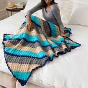 Go to Product: Red Heart Corner-to-Corner Crochet Throw in color