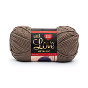 Go to Product: Red Heart With Love Metallic Yarn, Taupe in color Taupe
