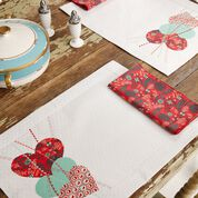 Dual Duty Hearts Together Place Mats