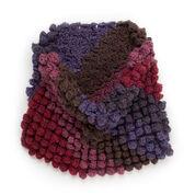 Caron Cakes Crochet Corner to Corner Bobble Cowl