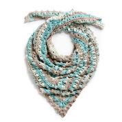 Caron Make a Point Crochet Shawl