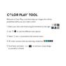 Caron x Pantone See-Saw Knit Scarf