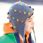Patons Smarty Pants Hat, 18mos/2 yrs