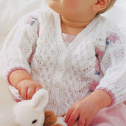 Go to Product: Patons Pretty Cardigan, 0-6 mos in color