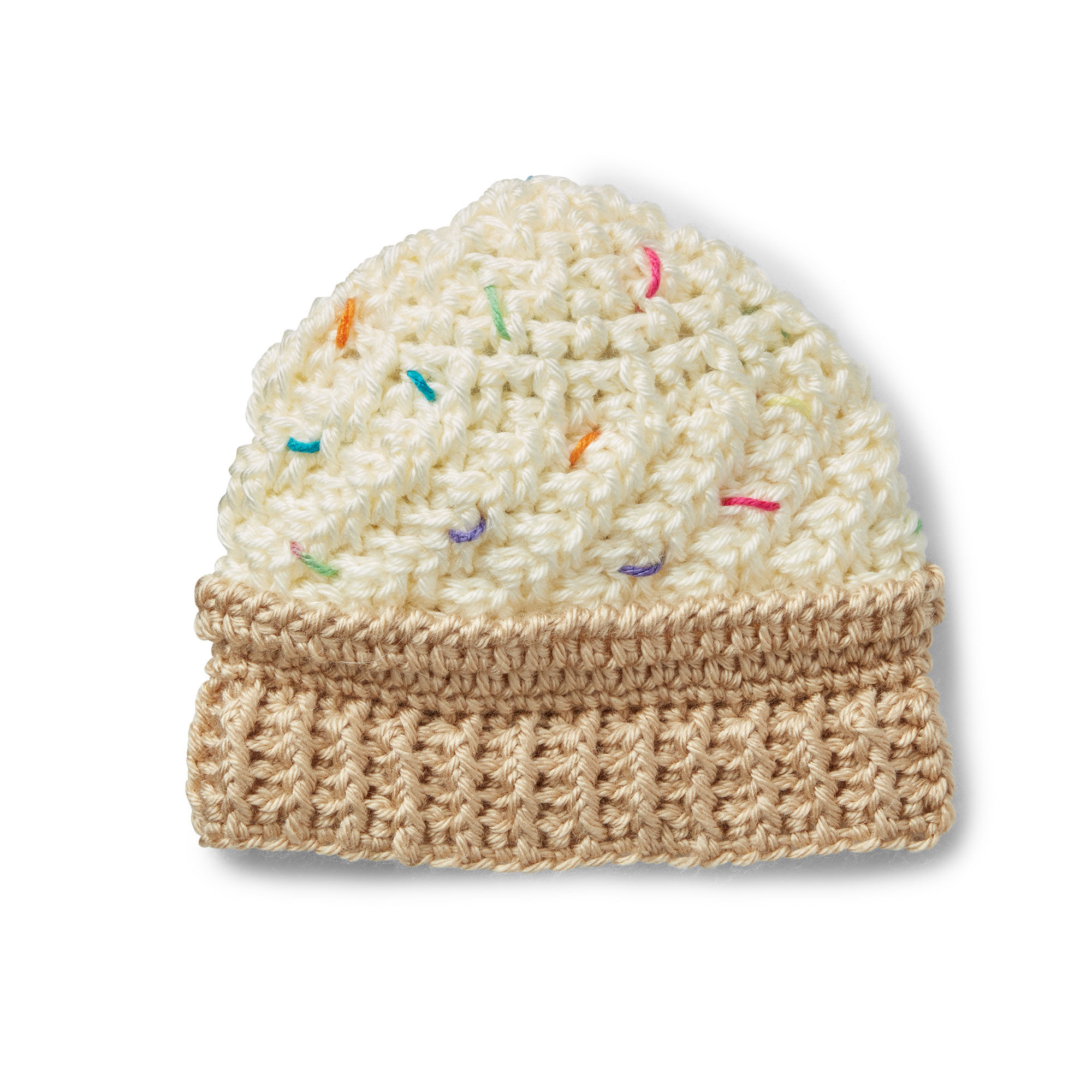 Caron Ice Cream Swirl Crochet Hat, 6-12 mos - Version 1 Pattern ...