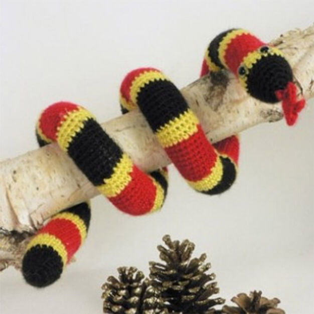Caron Coral Snake Toy