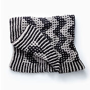 Go to Product: Bernat Mosaic Chevron Knit Blanket in color