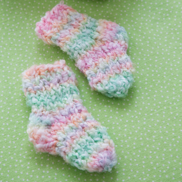 Red Heart Cozy Toes Socks in color