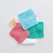 Red Heart Square Scrubbies
