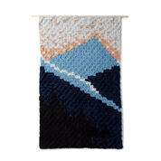 Red Heart Peak Your Interest C2C Crochet Tapestry