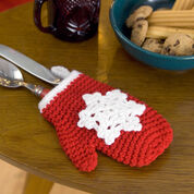 Go to Product: Red Heart Crochet Snowflake Mitten Ornaments in color