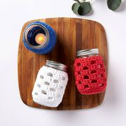 Go to Product: Lily Sugar'n Cream Long Weekend BBQ Mason Jar Crochet Cozies in color
