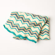Caron Catch Some Waves Blanket, Version 1