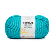 Bernat Maker Outdoor Yarn, Deep Sea Teal