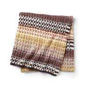 Go to Product: Caron Double the stripes Knit Blanket in color