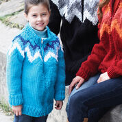 Go to Product: Bernat Kid's Zig-Zag Cardigan, 2 yrs in color