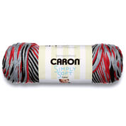 Go to Product: Caron Simply Soft Camo Yarn, Red Camo in color Red Camo