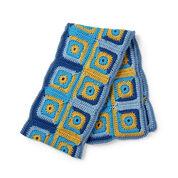 Go to Product: Caron x Pantone Log Cabin Blocks Crochet Scarf in color