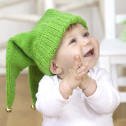 Red Heart Jingle Bells Baby Hat