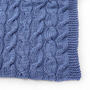 Red Heart Casual Cables Throw