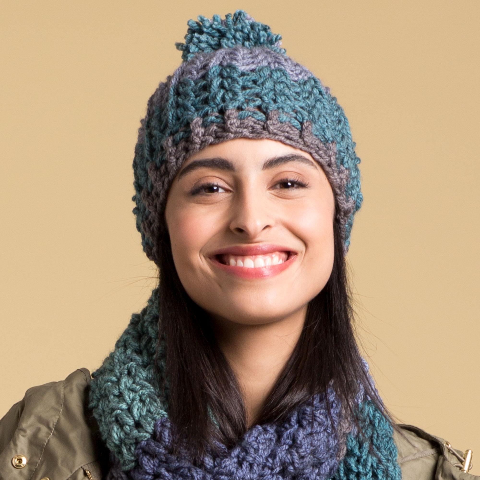 Caron Crochet Winter Hat Pattern Yarnspirations