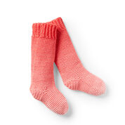 Go to Product: Red Heart Kids Crochet Slipper Socks in color