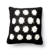 Bernat Crochet Polka Time Pillow
