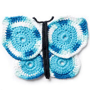 Lily Sugar'n Cream Butterfly Crochet Dishcloth